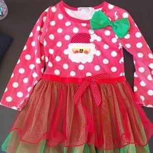 Other - Little Girls Red Santa Dress